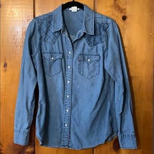 Vintage LEVI'S long sleeve button up